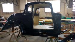 1933 Plymouth  5 W Coupe Car Body Only